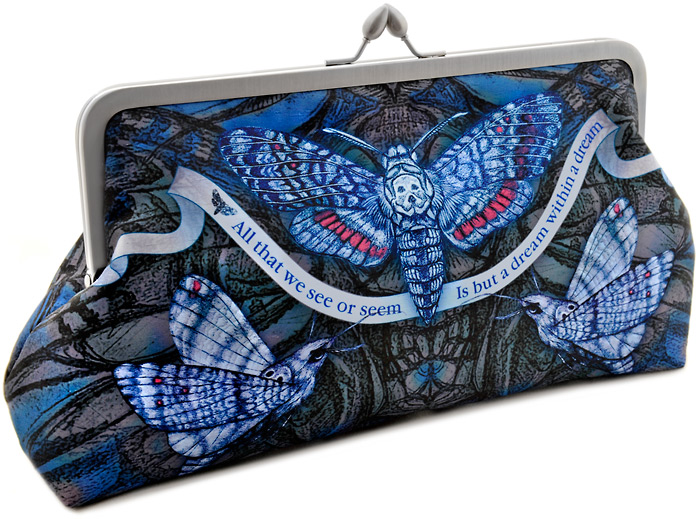 Dream Within a Dream, Edgar Allen Poe Clutch